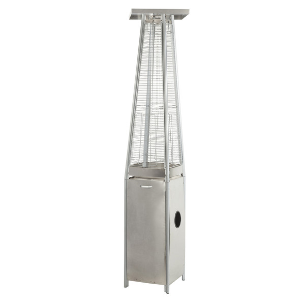 PARAMOUNT FLAME PATIO HEATER, STAINLESS