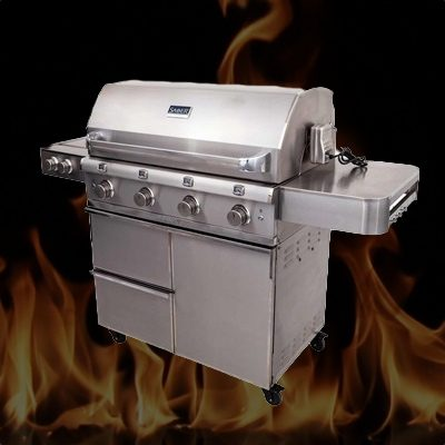 Saber Grill on Flame BG